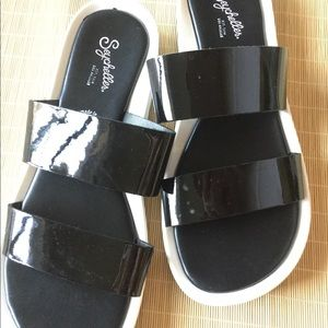 🌿Seychelles Black Strap Sandals 🌿